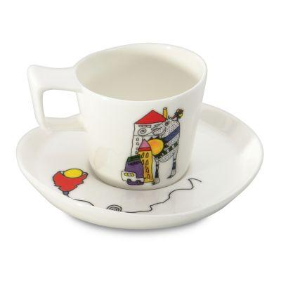 2 x tasse et sous-tasse espresso par Codriez