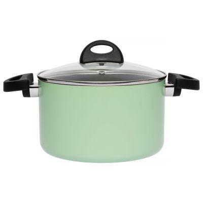 Covered casserole green 20 cm