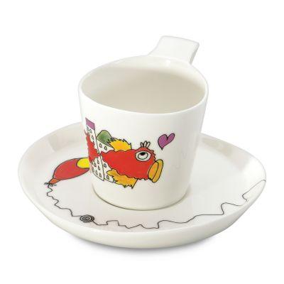 2 x tasse et sous-tasse à thé par Codriez