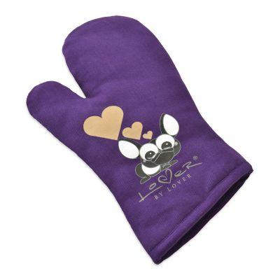 Oven glove purple