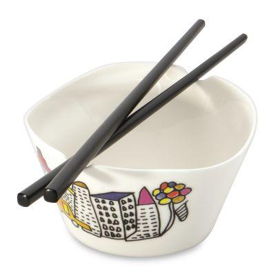 2x rice bowl set (with chopstick) by Codriez