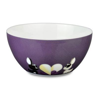 2 x bol à céréales Violet