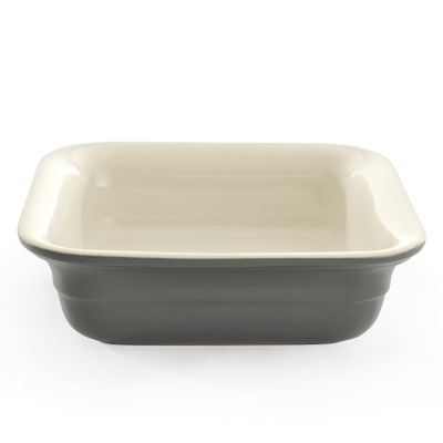 Square baking dish grey 20 cm