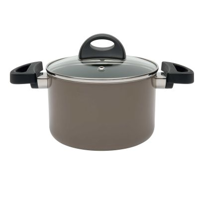 Covered casserole 16 cm beige