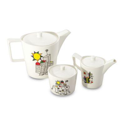 Set à café/thé 6 pièces par Codriez