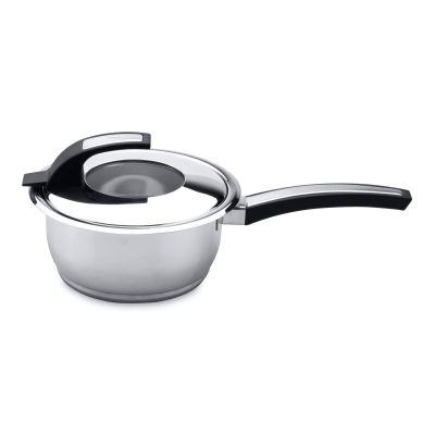 Covered saucepan Metal 16 cm